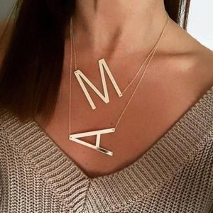 Jewelry - Gold Initial Necklace